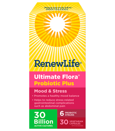 Ultimate Flora Probiotic Mood and Stress - 30's