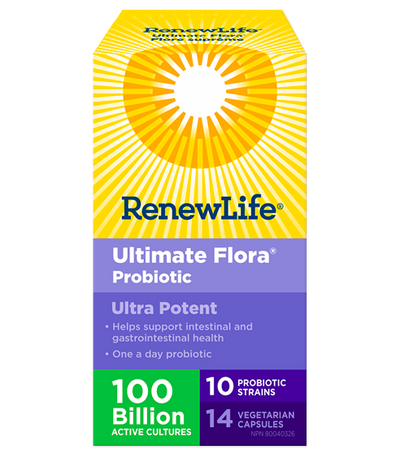 Ultimate Flora Ultra Potent - 100 Billion Probiotic