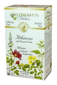Celebration Herbals Hibiscus with Tropical Fruit - 24 Tea Bags