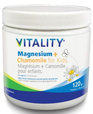 Magnesium and Chamomile for Kids - 120 gram powder