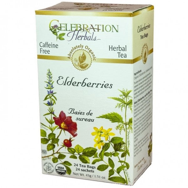 Celebration Herbals Elderberry Tea - 24 Tea Bags