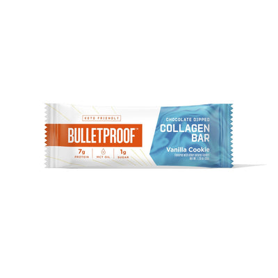 Collagen Protein Bar - Chocolate Dipped Vanilla Cookie