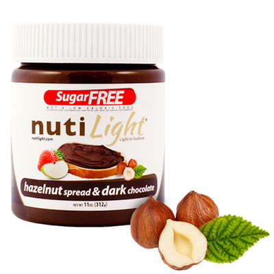 Nutilight - Dark Chocolate Hazelnut Spread