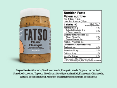 Fatso Almond & Seed Butter - Various Flavours