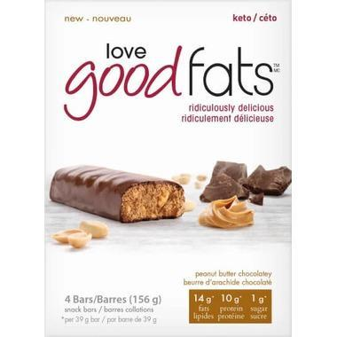 Love Good Fats Bars Box of 4 Bars - Various Flavours