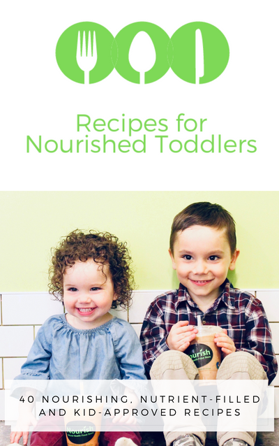 Recipes for Nourished Toddlers