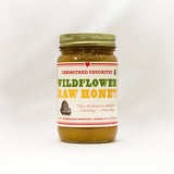 Wildlflower Raw Honey
