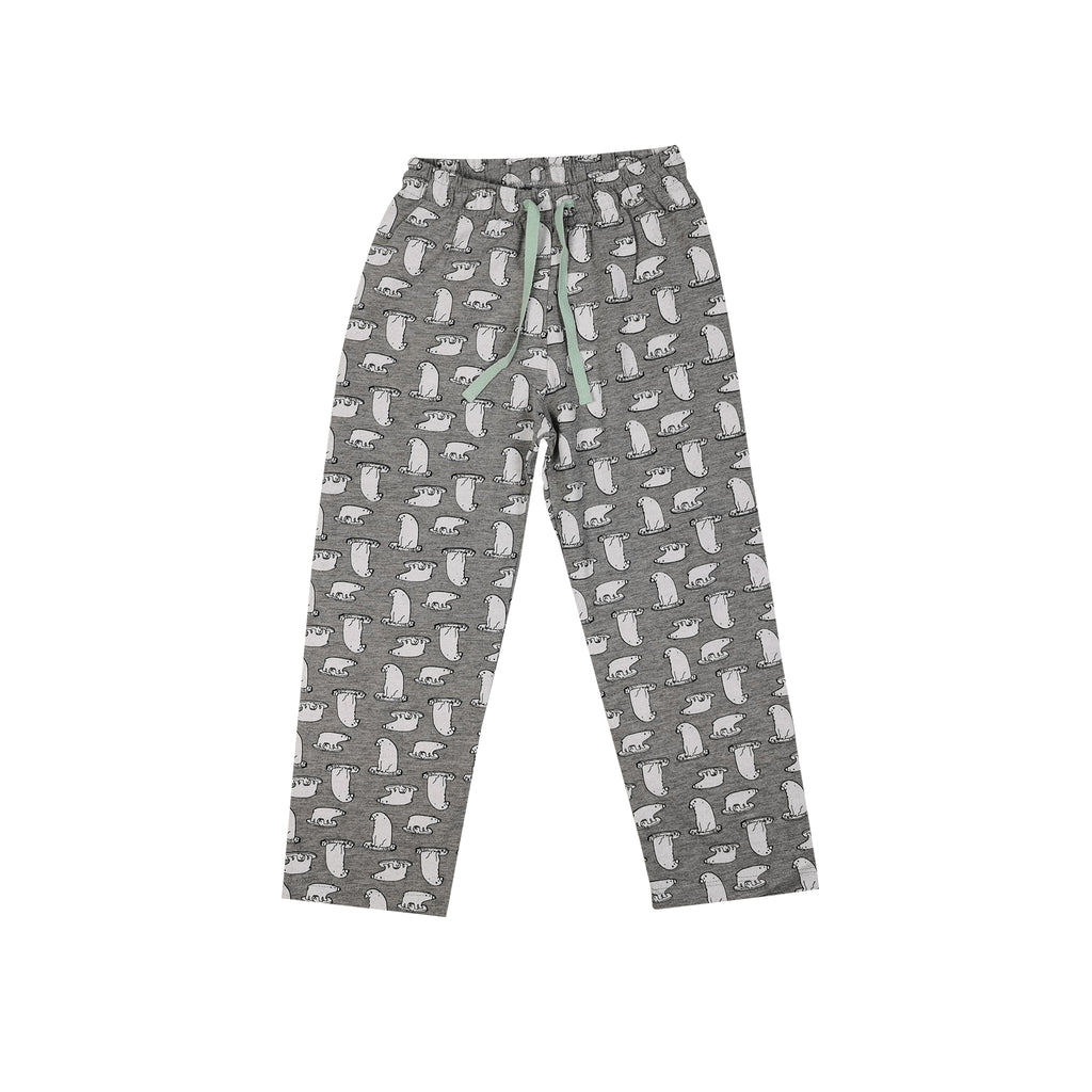 Katia - Light Grey Pyjama With Polar Bears On Ice