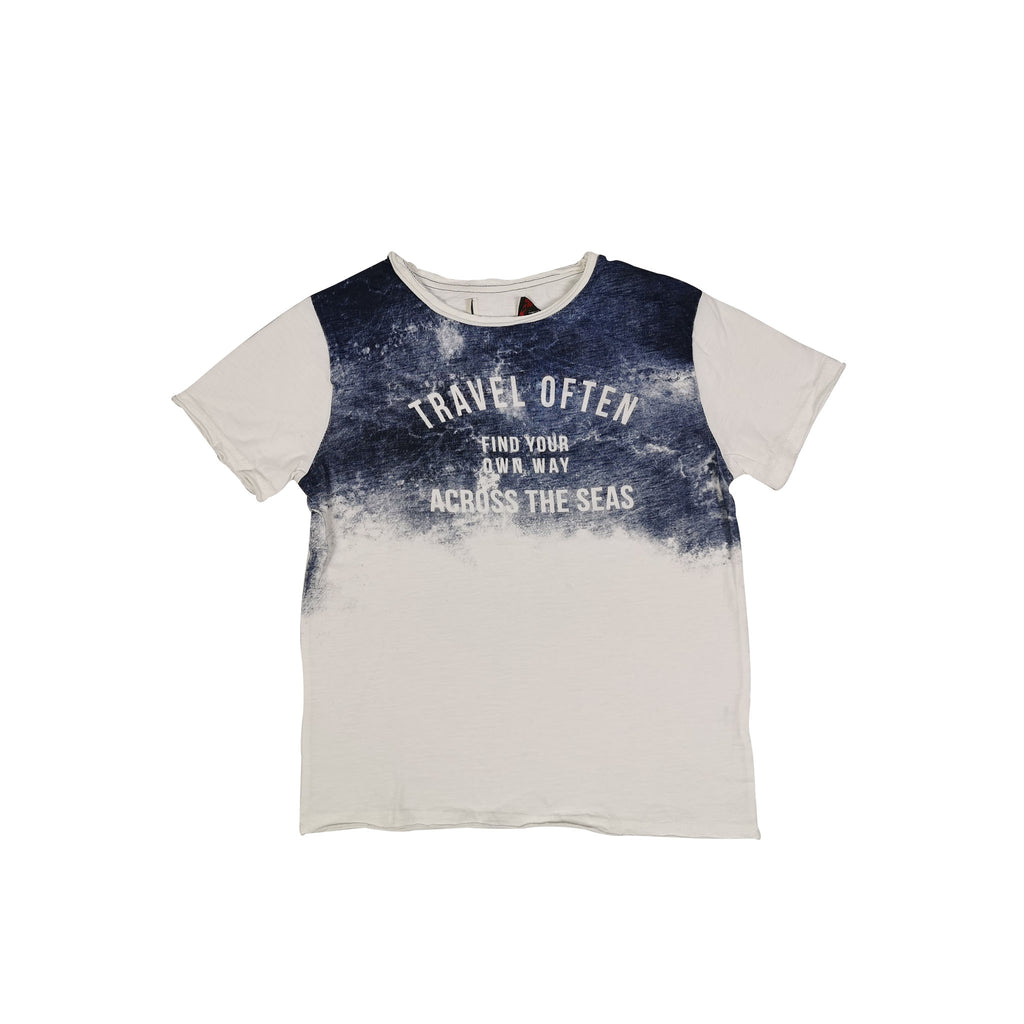"TSHIRT SS - WHITE ""TRAVEL OFTEN"""