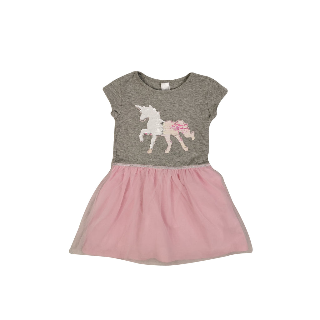Unicorn Sequin Tutu Dress