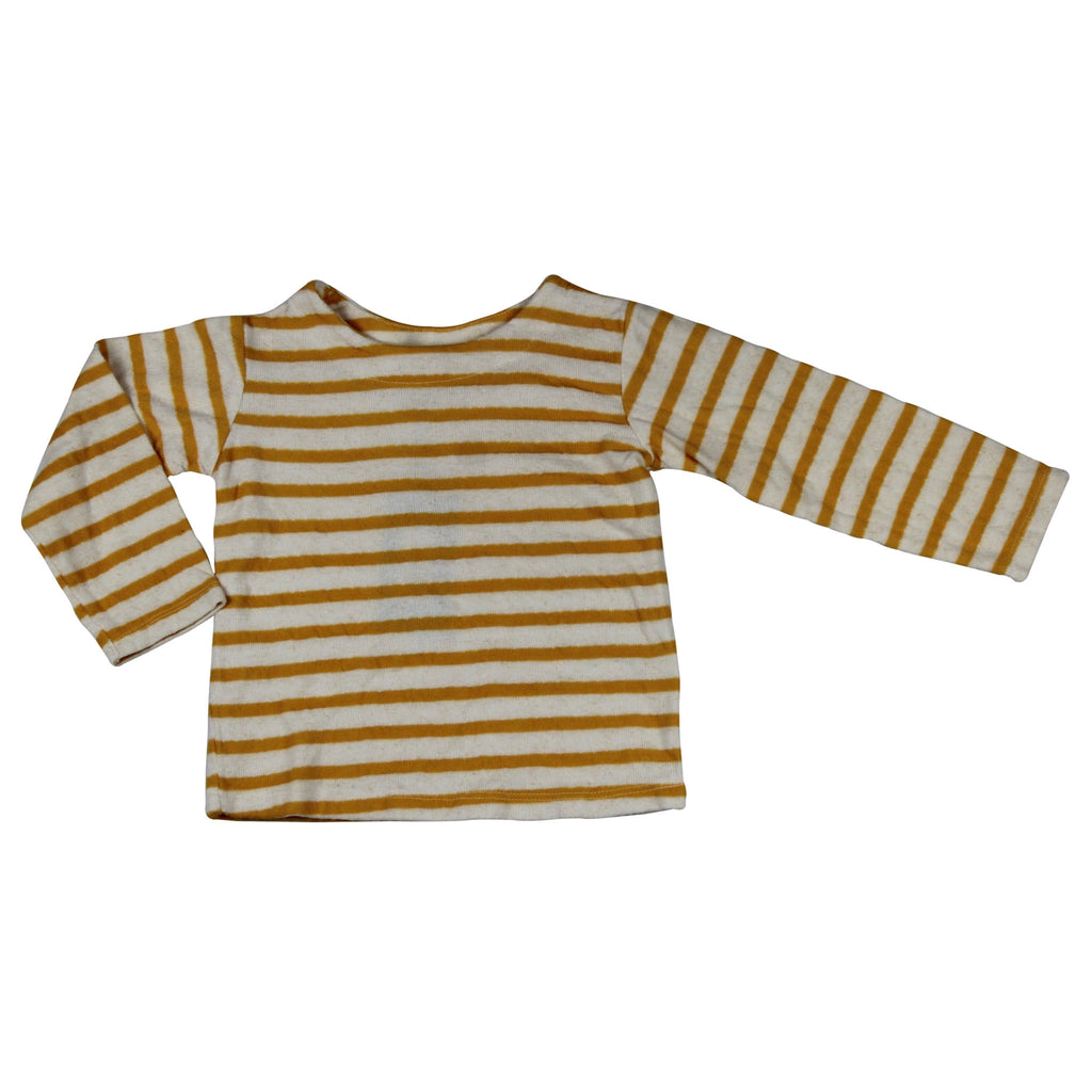 TShirt LS - YELLOW STRIPPED COLOR