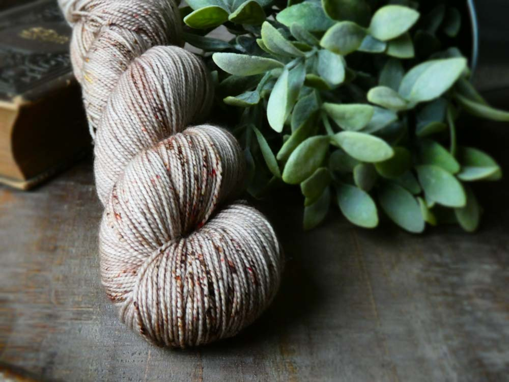 Fall for November luxurious and inspiring hand dyed yarn