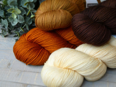 Ancestral Deluxe set - Fall for November yarns