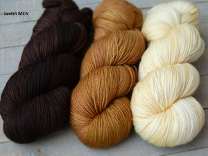 Ancestral set - Lavish MCN fingering - Fall for November yarns