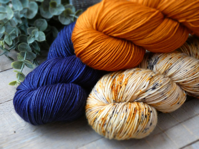 Andalusia set - Fall for November yarns