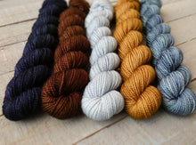 Load image into Gallery viewer, Autumn Frost mini set - Noble sock - Fall for November