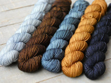 Load image into Gallery viewer, Autumn Frost mini set - Timeless sock - Fall for November