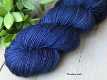 Load image into Gallery viewer, Heavenly - Purity collection - Timeless sock - Fall for November yarns
