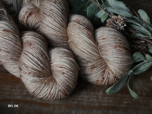 Hollow Birch - Vibrance collection - BFL DK - Fall for November yarns