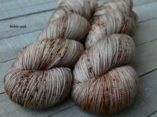 Load image into Gallery viewer, Hollow Birch - Vibrance collection - Noble sock - Fall for November yarns