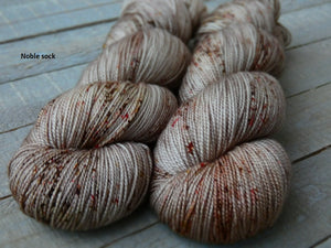 Hollow Birch - Vibrance collection - Noble sock - Fall for November yarns