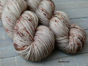 Hollow Birch - Vibrance collection - Timeless sock - Fall for November yarns