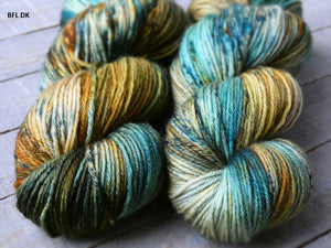 Rusty Sea - Vibrance collection - BFL DK - Fall for November yarns