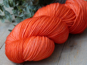 Tangy Peach - Purity collection - Fall for November yarns