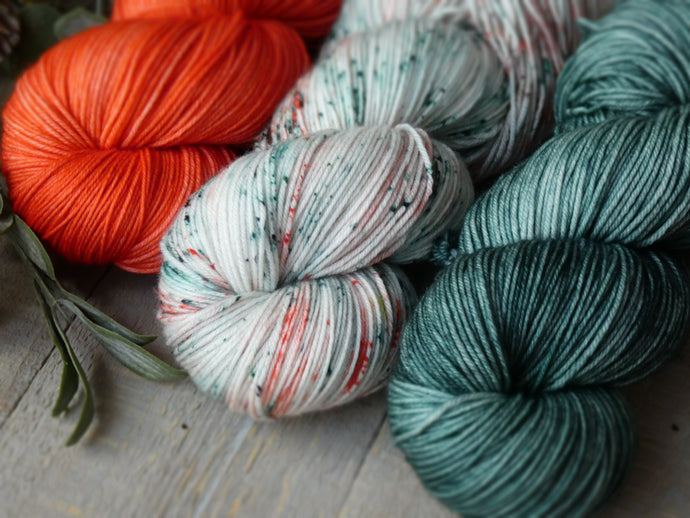 Tropical set - Fall for November yarns