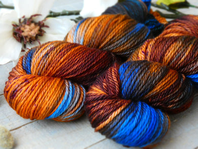 Umber Meadows -  Elite worsted - Fall for November yarns