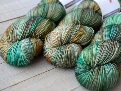 Woodland - Timeless sock - Fall for November yarns