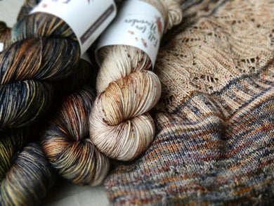Zweig sweater yarn set - Fall for November yanrs