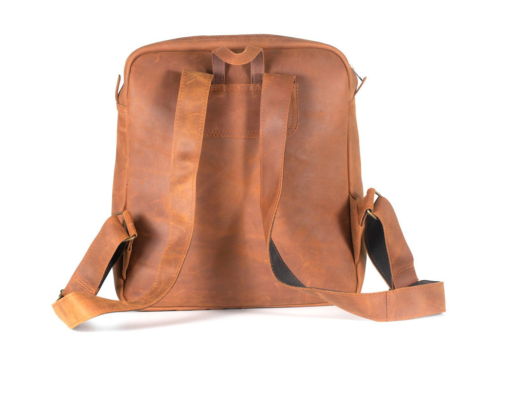 No.72 Chestnut Leather Backpack