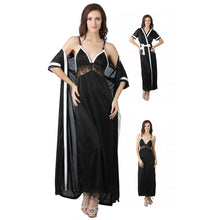Load image into Gallery viewer, Women Nighty with Robe [colour]- Hautie UK, #Nightfashion | #Underfashion