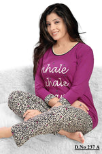 Загрузить изображение в средство просмотра галереи, INHALE EXHALE DREAM PJ Set Long Sleeve Top Nightwear [colour]- Hautie UK, #Nightfashion | #Underfashion