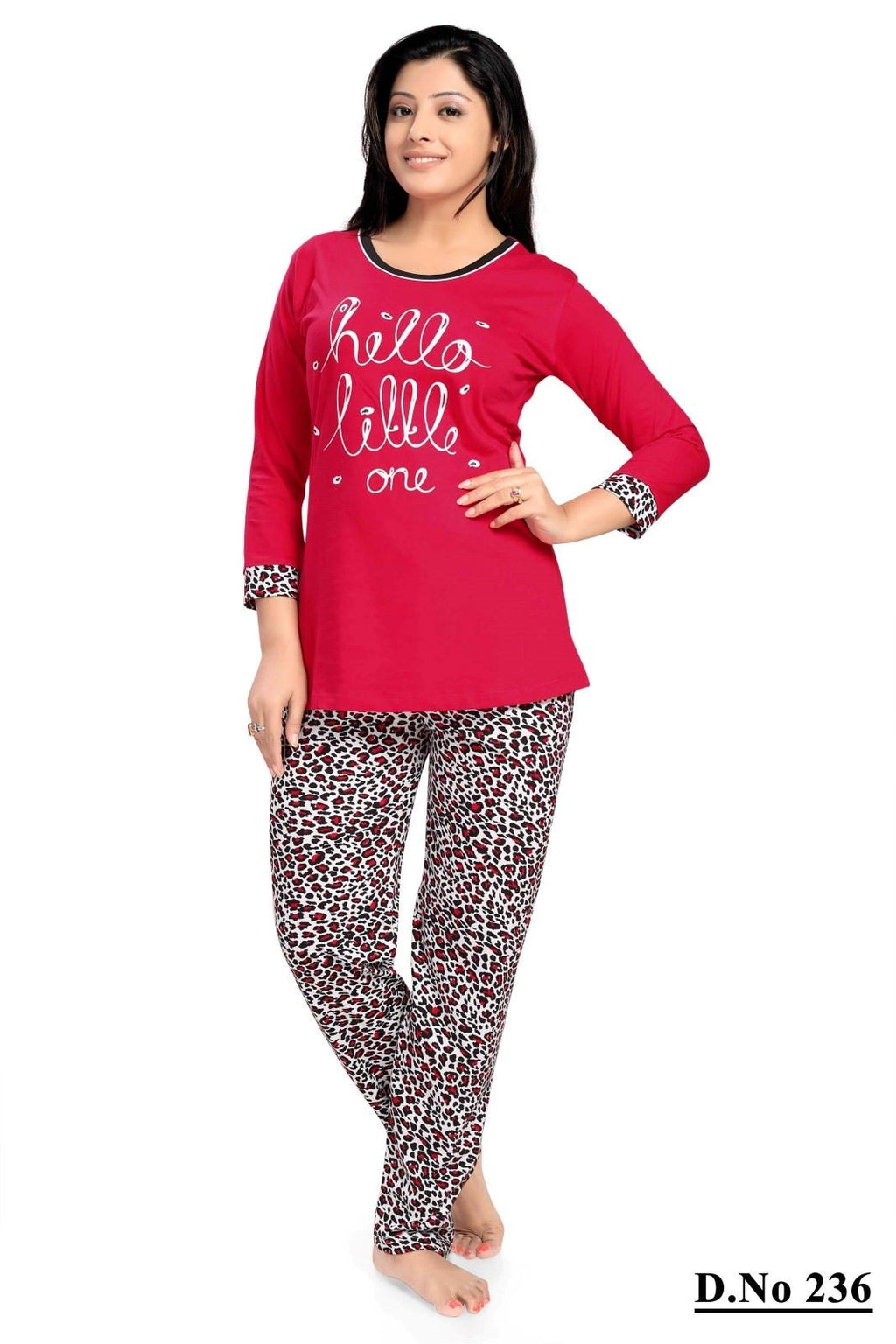 HELLO LITTLE ONE Pyjamas Set PJS [colour]- Hautie UK, #Nightfashion | #Underfashion