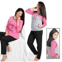 Load image into Gallery viewer, I D RATHER BE SLEEPING Pyjamas PJ Set [colour]- Hautie UK, #Nightfashion | #Underfashion