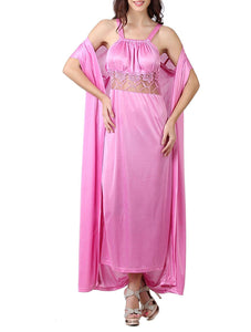 Sexy Bridal Satin Nighty With Robe [colour]- Hautie UK, #Nightfashion | #Underfashion
