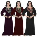 Load image into Gallery viewer, Women Cotton Plus Size Nighty [colour]- Hautie UK, #Nightfashion | #Underfashion