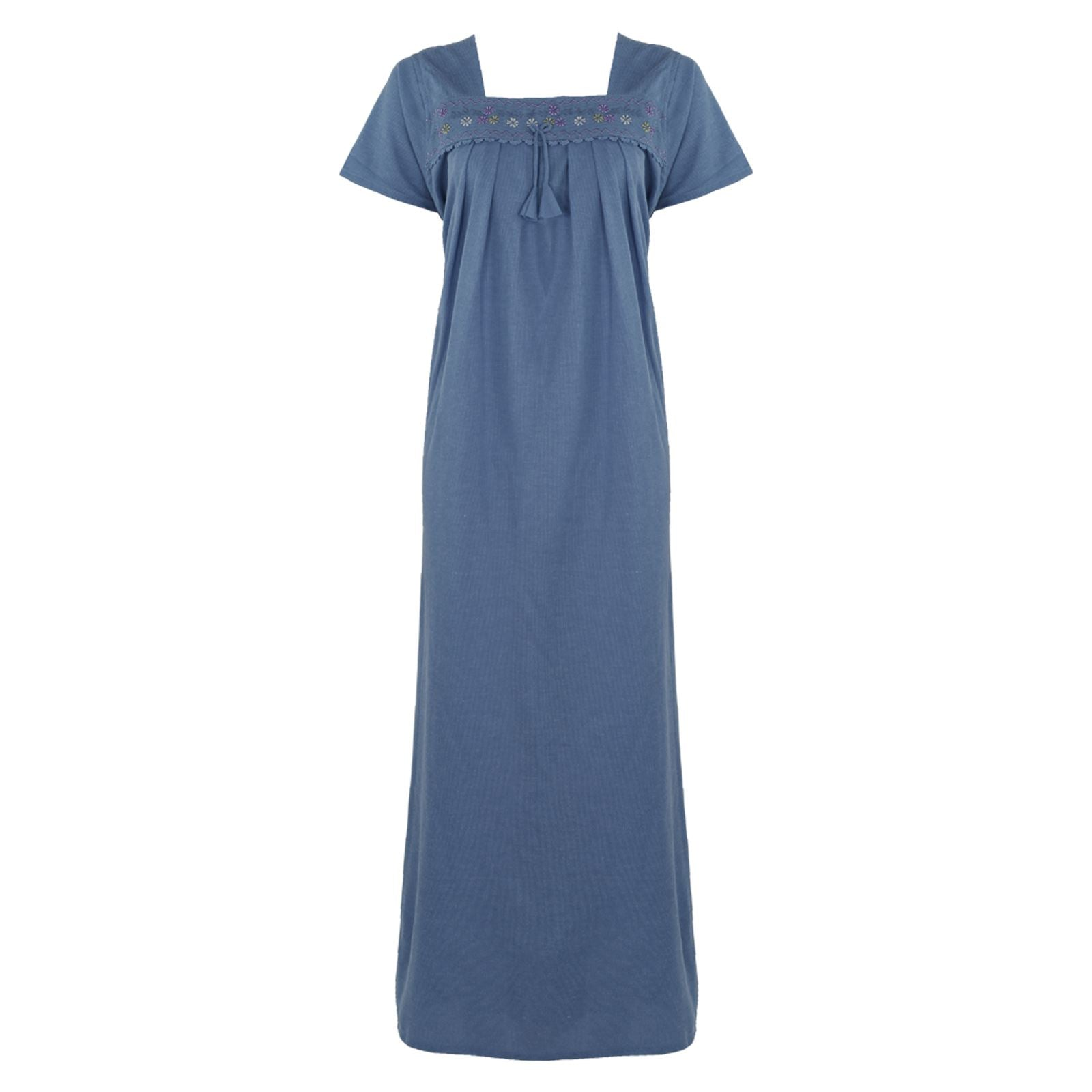Cotton Rich Winter Nightdress [colour]- Hautie UK, #Nightfashion | #Underfashion
