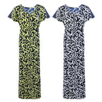 Load image into Gallery viewer, Women Stretchable Printed Nightshirt Plus Size [colour]- Hautie UK, #Nightfashion | #Underfashion