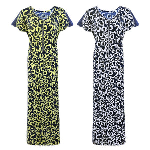 Women Stretchable Printed Nightshirt Plus Size [colour]- Hautie UK, #Nightfashion | #Underfashion