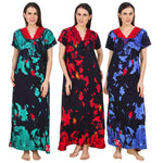 Load image into Gallery viewer, Cotton Rich Floral Lace Nightie - Hautie Nightfashion