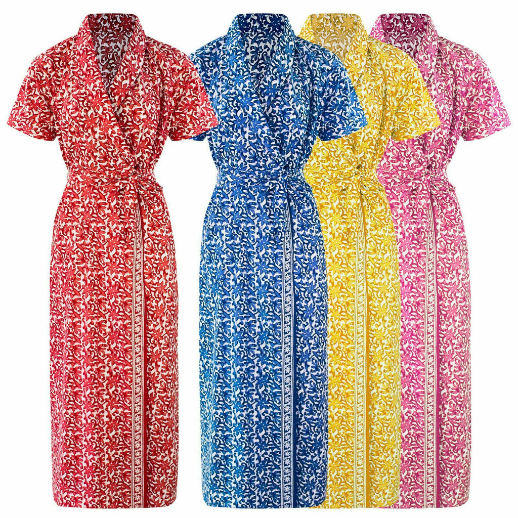 Ladies 100% Cotton Robe [colour]- Hautie UK, #Nightfashion | #Underfashion