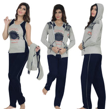 Load image into Gallery viewer, 3 Piece Tracksuit Hoodie Top Jogging Pants [colour]- Hautie UK, #Nightfashion | #Underfashion