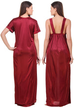 Load image into Gallery viewer, Grace Plus Size Satin Nightwear Set