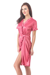 Sofia Satin Dressing Gown Robe