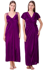 Load image into Gallery viewer, Chloe Satin Gown Nightwear Set