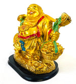 Load image into Gallery viewer, Lucky Laughing Happy Fat Buddha Buda Ornament Statue Sculpture Feng Shui Vastu Gift [colour]- Hautie UK, #Nightfashion | #Underfashion