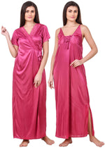 Load image into Gallery viewer, Madison Plus size Nightgown and Robe Set
